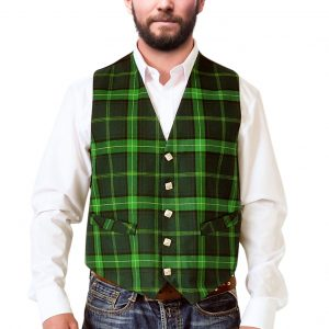 Celtic tartan waistcoat