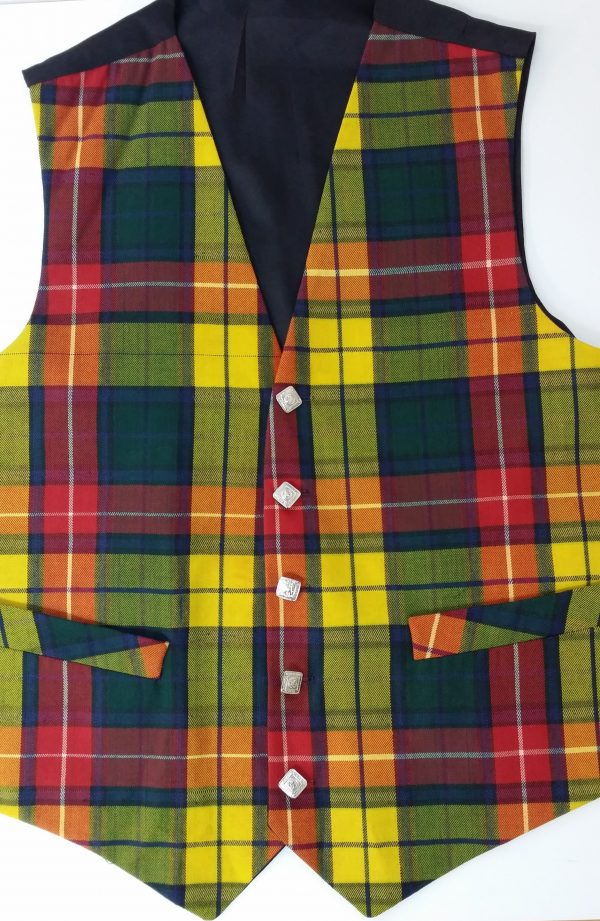 Buchanan Tartan Waistcoat