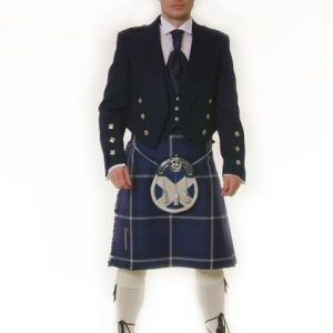 Original Saltire 8 yard Kilt Package