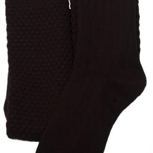 Pipers Socks Black All Sizes