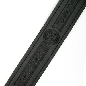 Celtic / Thistle Embossed Belt