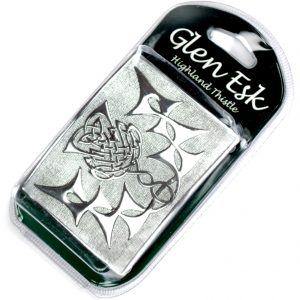 Silver Thistle Chrome Buckle