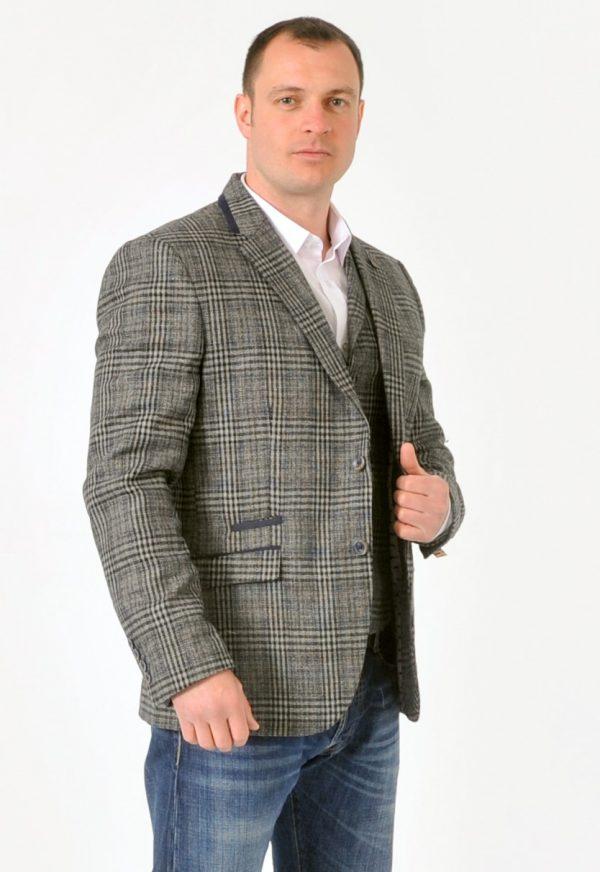 Grey Tweed Jacket Set SALE Price