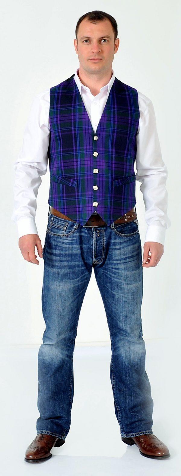 Spirit Of Scotland Tartan Waistcoat