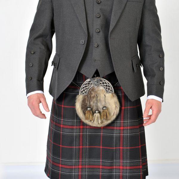 Grey Arrochar Tweed Jacket & Vest