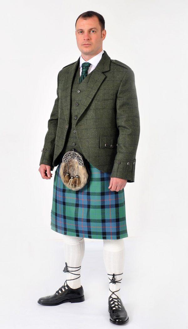 Green Tweed Argyll Jacket & Vest