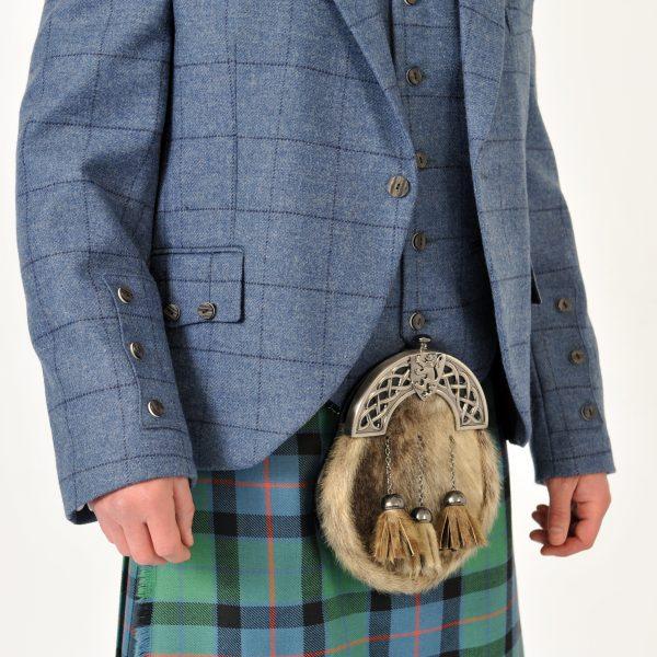 Blue Tweed Crail Jacket & Vest