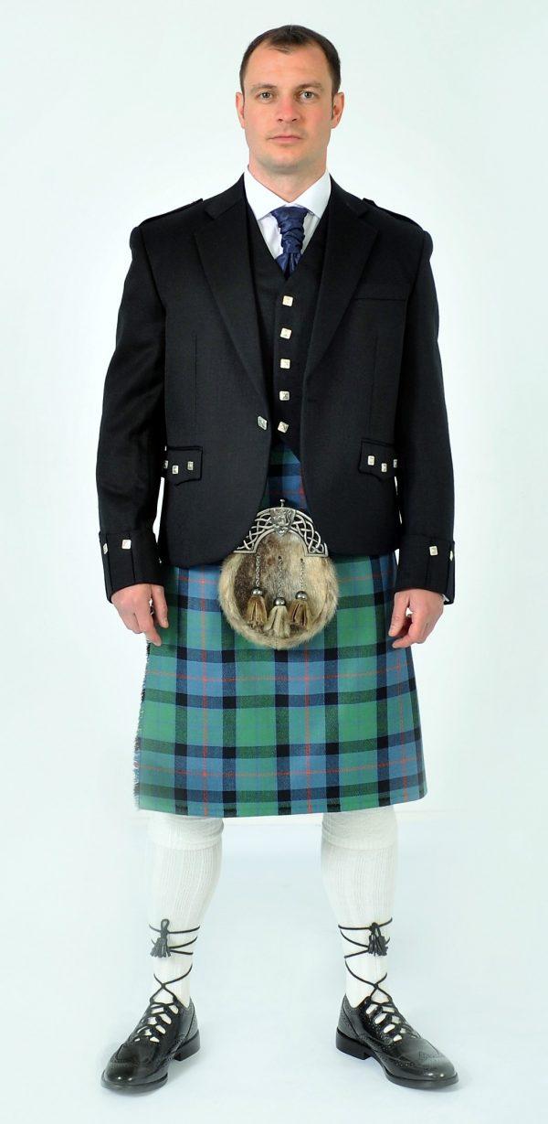 Ex Hire Argyll Jacket & Vest